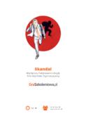 Skandal - gra szkoleniowa - podejmowanie decyzji, role zespołowe, współpraca, organizacja pracy