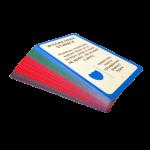 """Karty do gry """"W otwarte karty"""" - negocjacje, techniki negocjacji"""