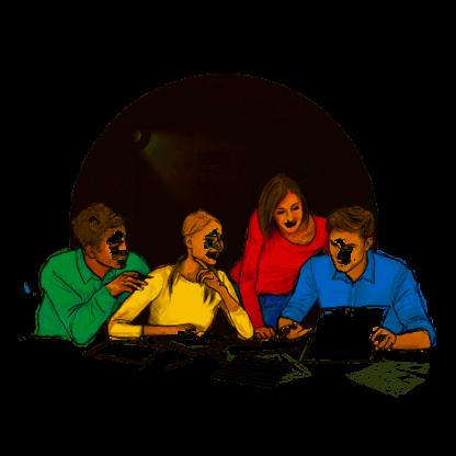 Gra symulacyjna - Film - komunikacja interpersonalna, współpraca w zespole
