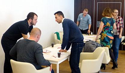 Gra szkoleniowa Szyfranci - motywowanie i zarządzanie zespołem