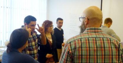 Gra szkoleniowa Szyfranci - zarządzanie zespołem i motywowanie