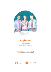 Szyfranci - gra szkoleniowa - zarządzanie zespołem, motywowanie