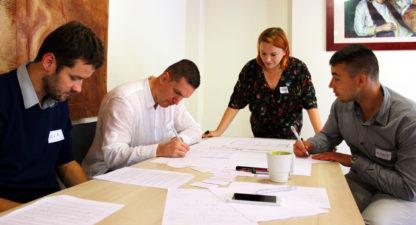 Gra szkoleniowa Czas redakcji - rozwój umiejętności zarządzania sobą w czasie, organizacji pracy, współpracy w zespole - GraSzkoleniowa.pl