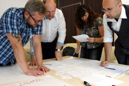 Gra szkoleniowa Czas redakcji - trening umiejętności zarządzania sobą w czasie, organizacji pracy, współpracy w zespole - GraSzkoleniowa.pl