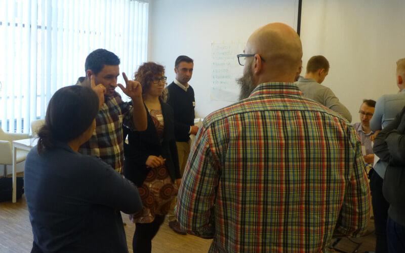 Gra szkoleniowa Szyfranci - zarządzanie zespołem i motywowanie - GraSzkoleniowa.pl
