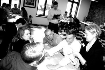 Gra szkoleniowa Gra Wywiadów - przywództwo, delegowanie, organizacja pracy zespołu - GraSzkoleniowa.pl