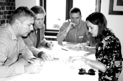 Gra szkoleniowa Gra Wywiadów - przywództwo, organizacja pracy zespołu, delegowanie - GraSzkoleniowa.pl